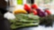 Spargel mit Tomaten & Zwiebeln